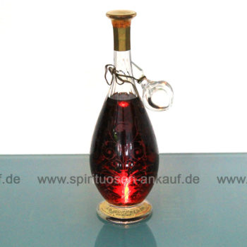 Monnet Baccarat Crystal Decanter