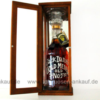 Jack Daniels Gold Medal 1904 Whisky
