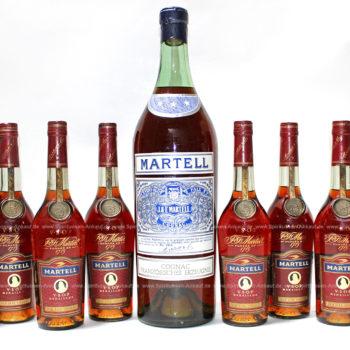 Martell 3 Stars 1950 Cognac Spring Cap