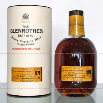 Glenrothes 1971 Restricted Release Whisky