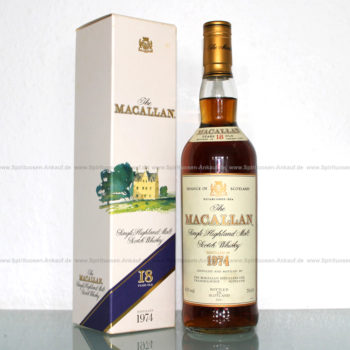 Macallan 1974 Whisky