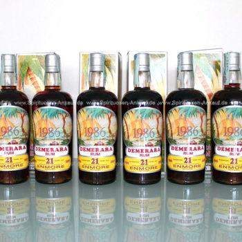 Demerara Silver Seal Rum Enmore