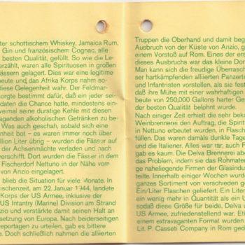 Rommel Schnaps Heft 3/6