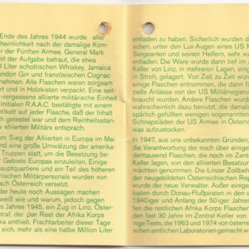 Rommel Schnaps Heft 4/6