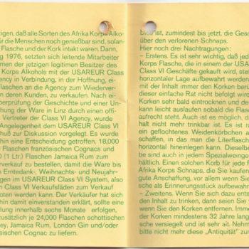 Rommel Schnaps Heft 5/6