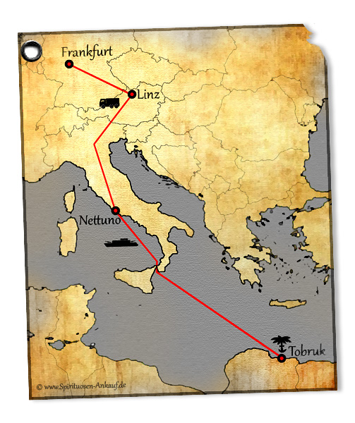 Rommel Schnaps Karte