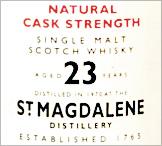 St Magdalene Whisky