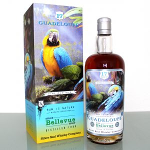 Bellevue Guadeloupe Rum Silver Seal 17 Years Old 1998 Wildlife Collection