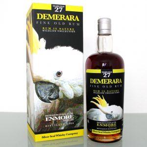 Enmore Demerara Rum Silver Seal 27 Years Old 1988 Wildlife Collection