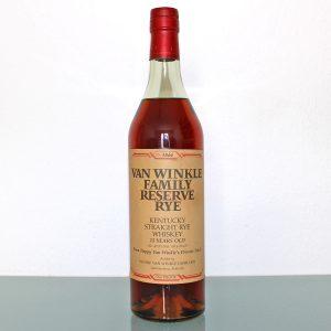 Van Winkle Family Reserve Rye 13 Years Old Whiskey